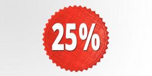 25procent